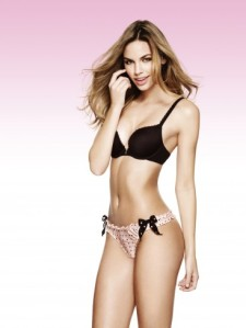 Penneys Lingerie black and pink