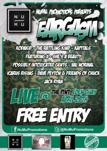 NuMu Promotions Presents Eargasm