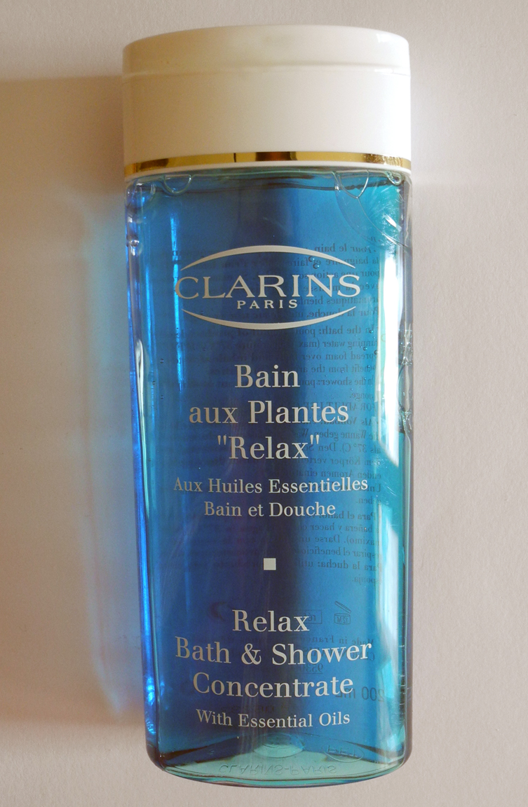 Beauty: Clarins Relax Bath & Shower  Review   Musicandeverything.com