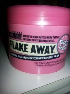 Dry Skin- Soap and Glory Body Scrub Rejuvenation
