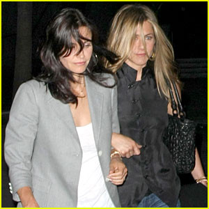 Aniston and Cox Womance