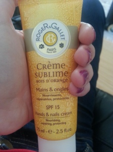 Roger & Gallet Hand cream review