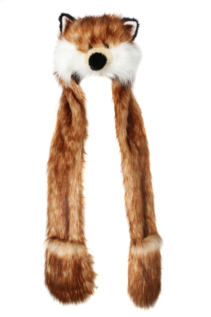 Novelty Fox Hooded Scarf €12