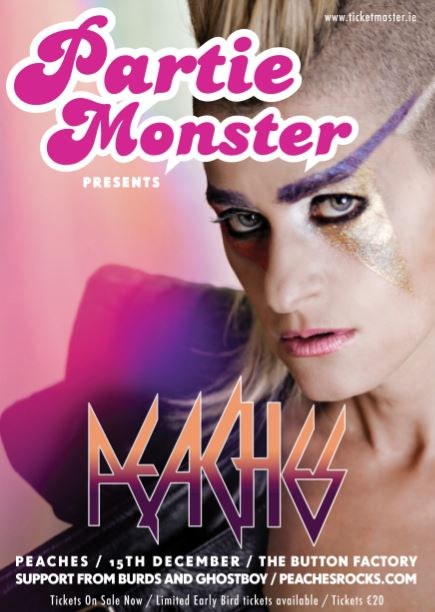 Partie Monster with Peaches.