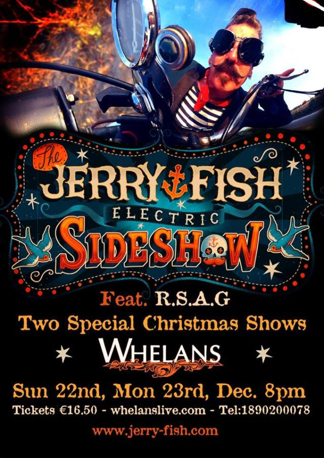 Jerry fish and the electric slide show