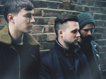 White Lies Press Shot (Brick Wall)