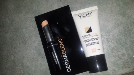 Vichy Dermablend Coverage Dream team