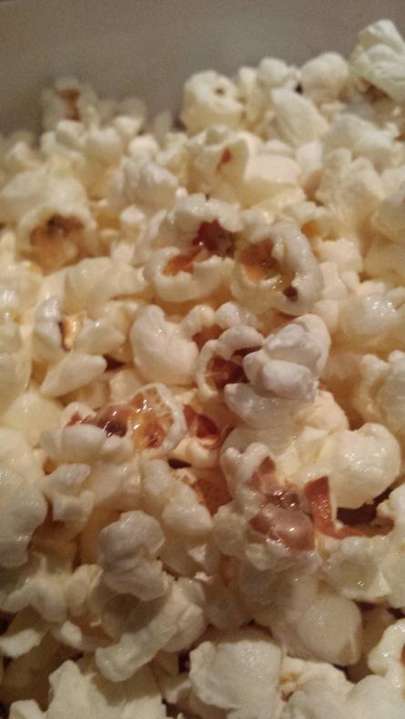Popcorn in the cinema