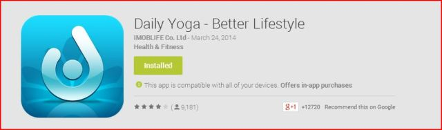 Yoga App recommendations