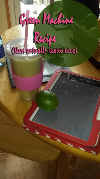 Green Machine Smoothie recipe