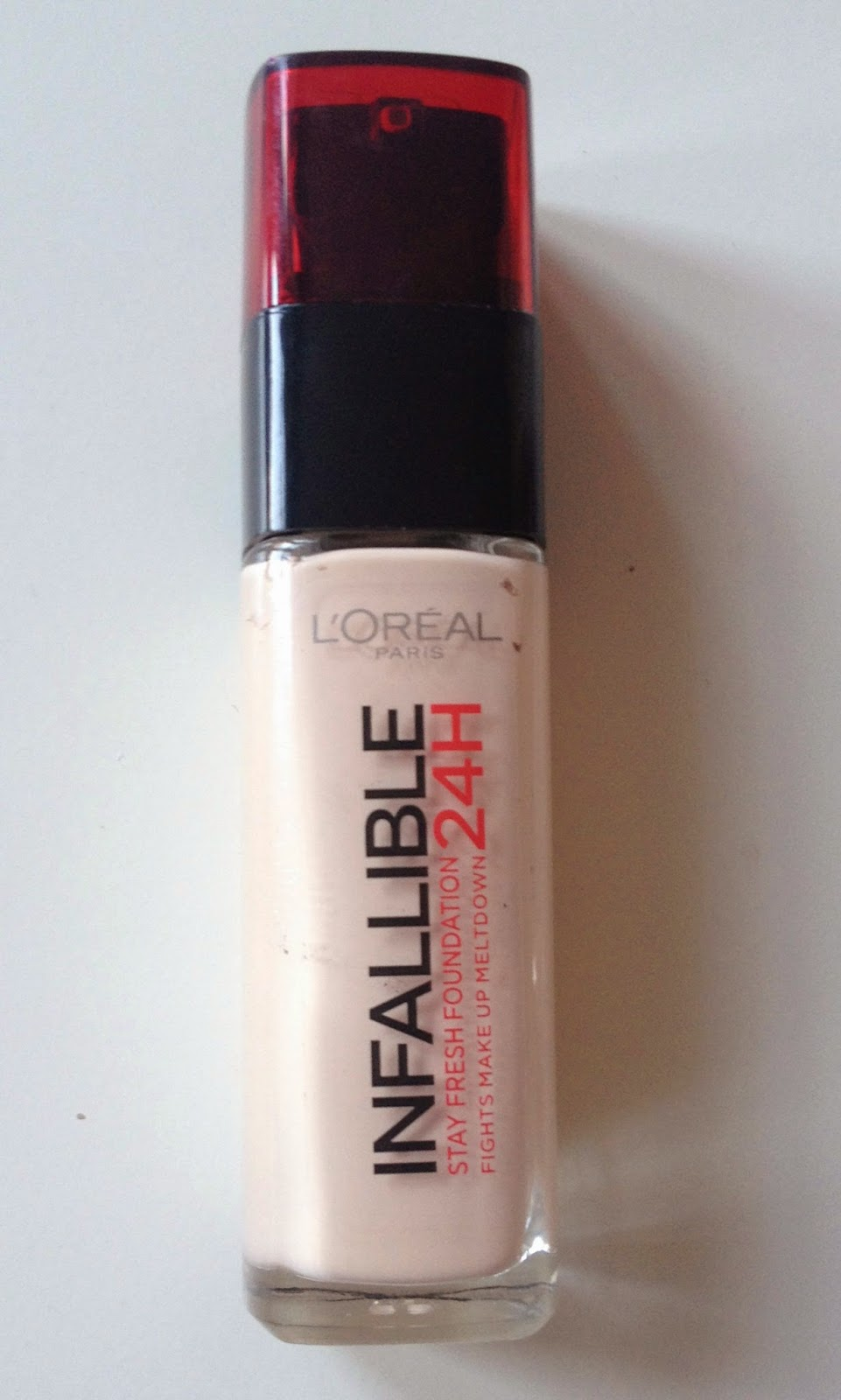 loreal infallible foundation review