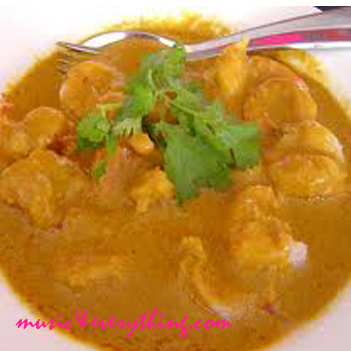 Clean indian coconut curry