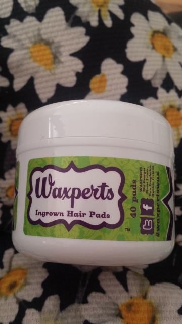 Waxperts Wax ingrown hair pads reviews